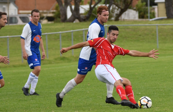 Fernhill Mid-field struggle