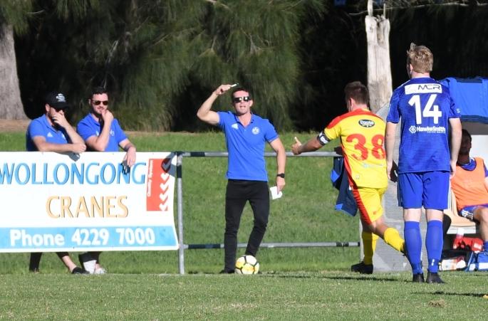 Wollongong United v Bulli FC